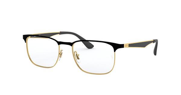 371f1b9dd7 Ray-Ban prescription glasses RB6363 Black - Metal - 0RX6363289054 ...