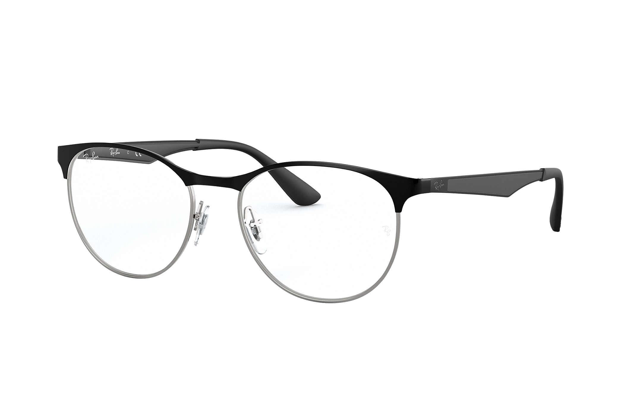 a6cc7f49495c2 Ray-Ban prescription glasses RB6365 Black - Metal - 0RX6365286151 ...