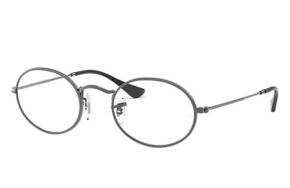 05ba702625 Ray-Ban prescription glasses Oval Optics RB3547V Tortoise - Metal ...