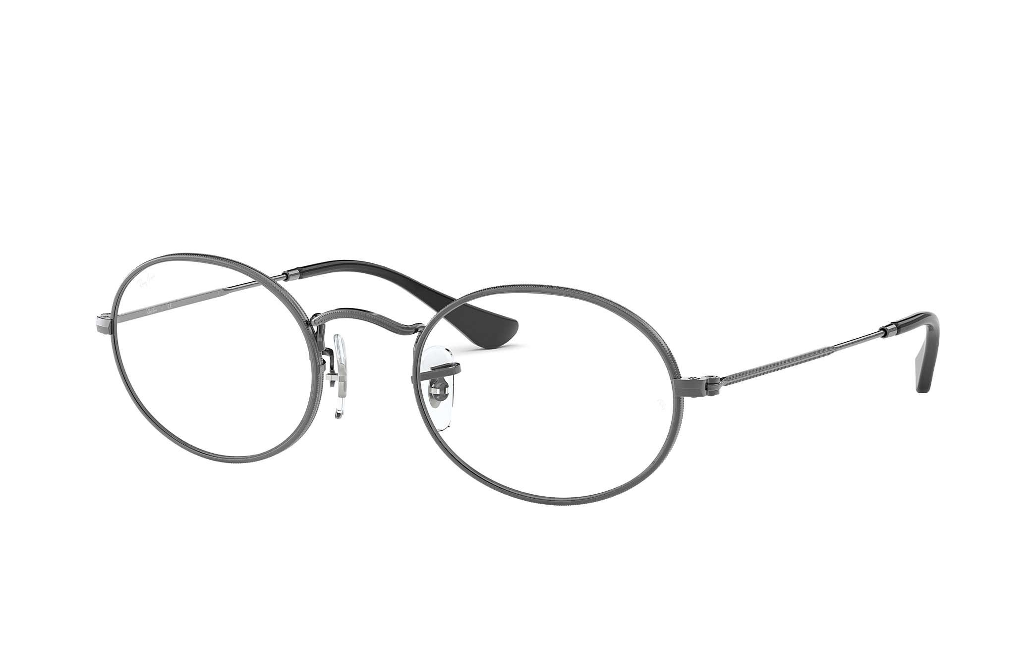 ray ban oval optics
