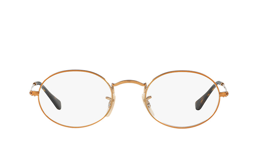 Ray-Ban  occhiali da vista RX3547V MALE 006 oval optics bronze copper 8053672602883