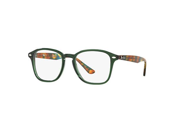 64b3f40e58340 Óculos de grau Ray-Ban RB5352 Verde - Acetato - 0RX5352563050