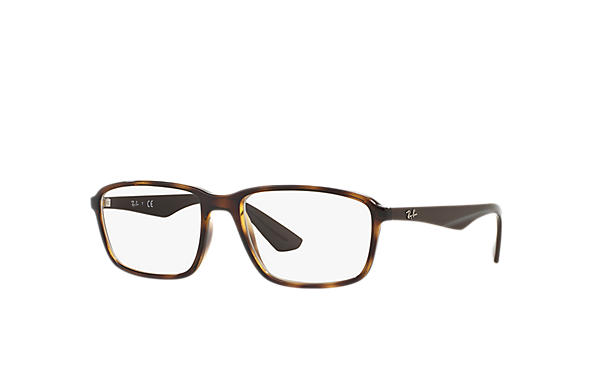 Ray-Ban 0RX7084-RB7084 Tortoise; Brown OPTICAL