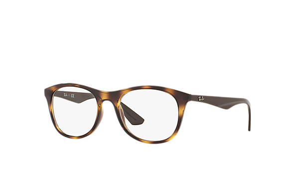 Ray-Ban 0RX7085-RB7085 Havana; Braun OPTICAL