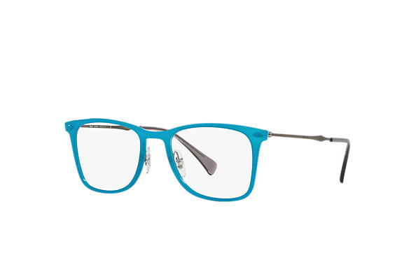 Ray-Ban 0RX7086-RB7086 Blau; Gunmetal OPTICAL