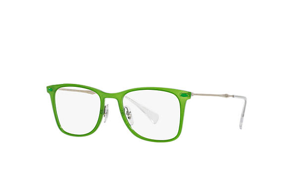 Ray-Ban 0RX7086-RB7086 Green; Silver OPTICAL