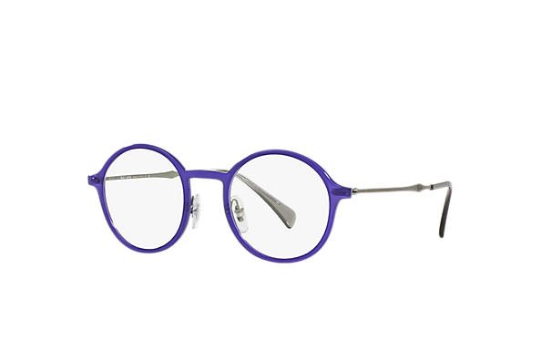 Ray-Ban 0RX7087-RB7087 Violet; Gunmetal OPTICAL