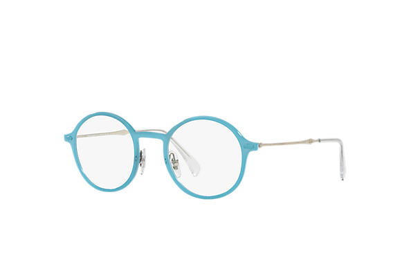 Ray-Ban 0RX7087-RB7087 Light Blue; Silver OPTICAL