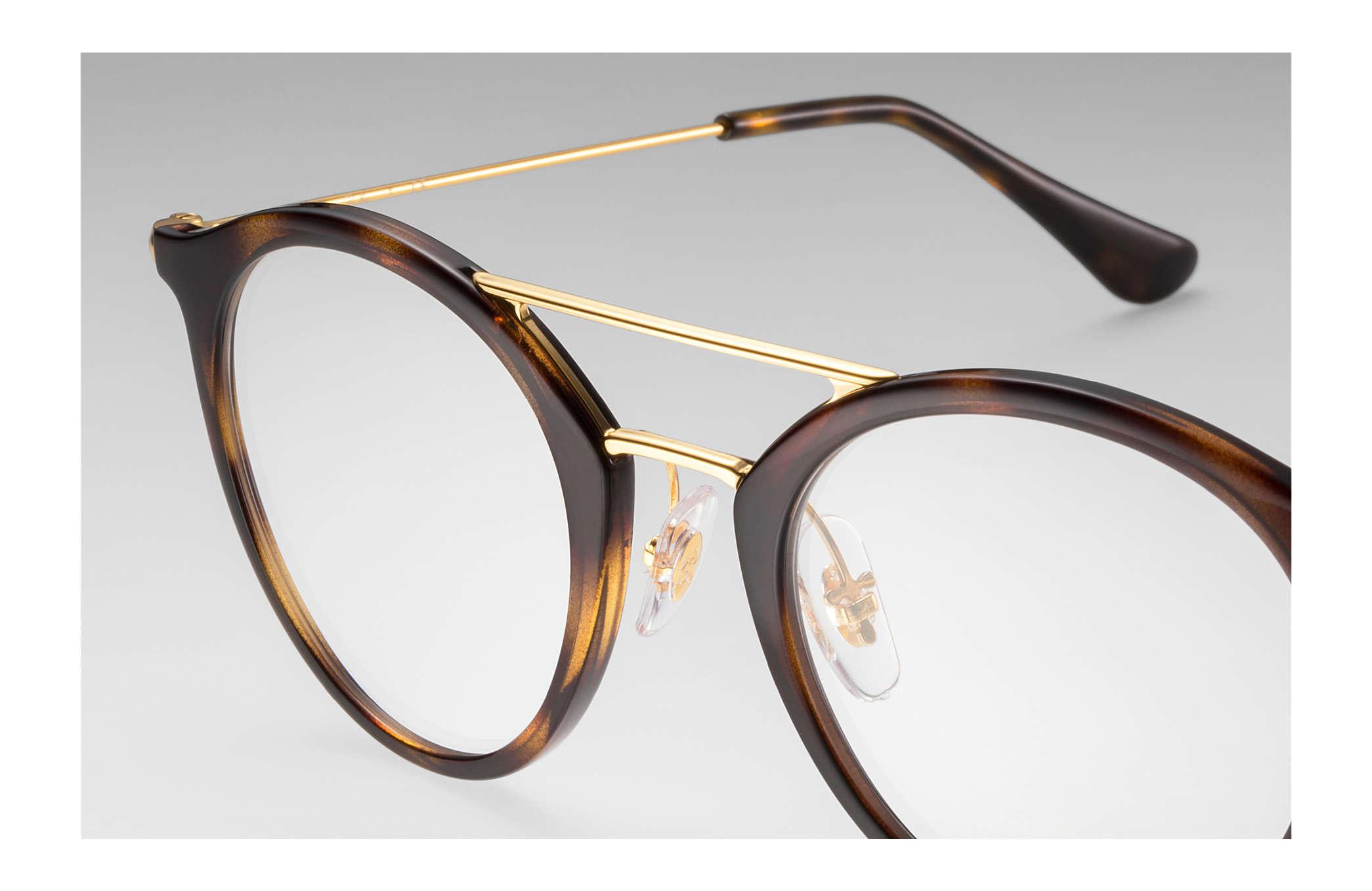 6b1112f24ae3df Ray-Ban eyeglasses RB7097 Tortoise - Injected - 0RX7097201249   Ray ...
