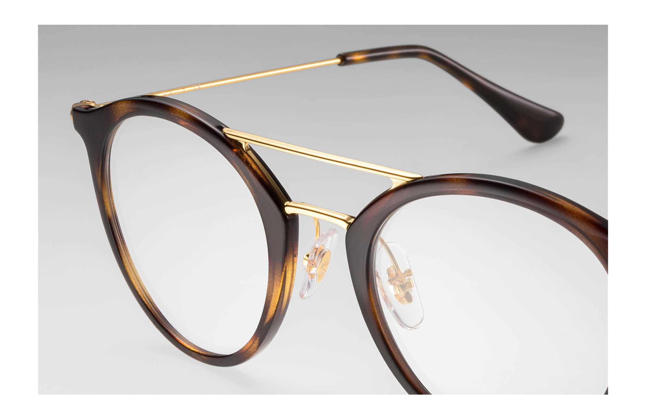 4f3ea2a807b Ray-Ban prescription glasses RB7097 Tortoise - Injected ...