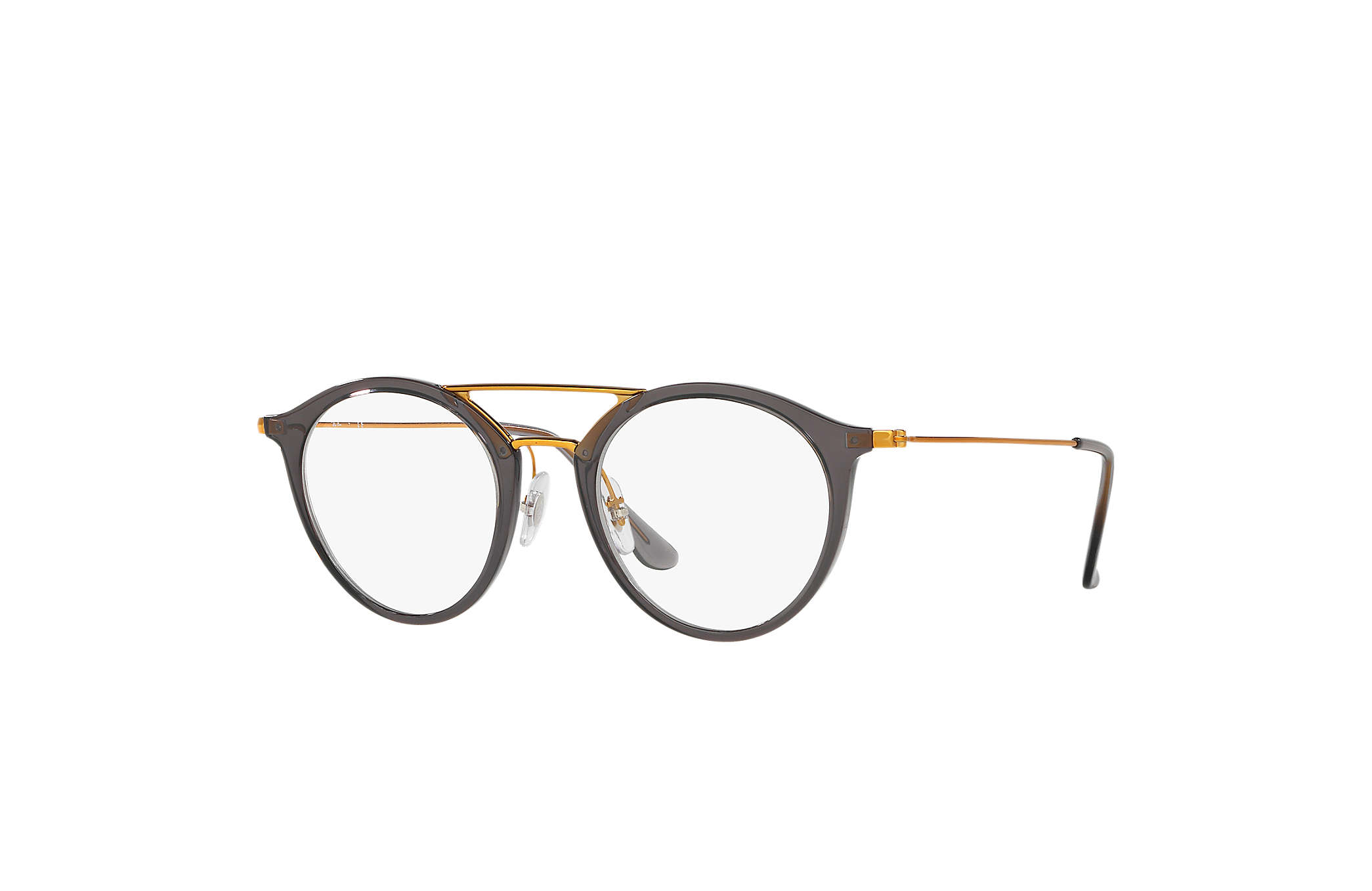 53007d27b9 Ray-Ban prescription glasses RB7097 Grey - Injected - 0RX7097563347 ...