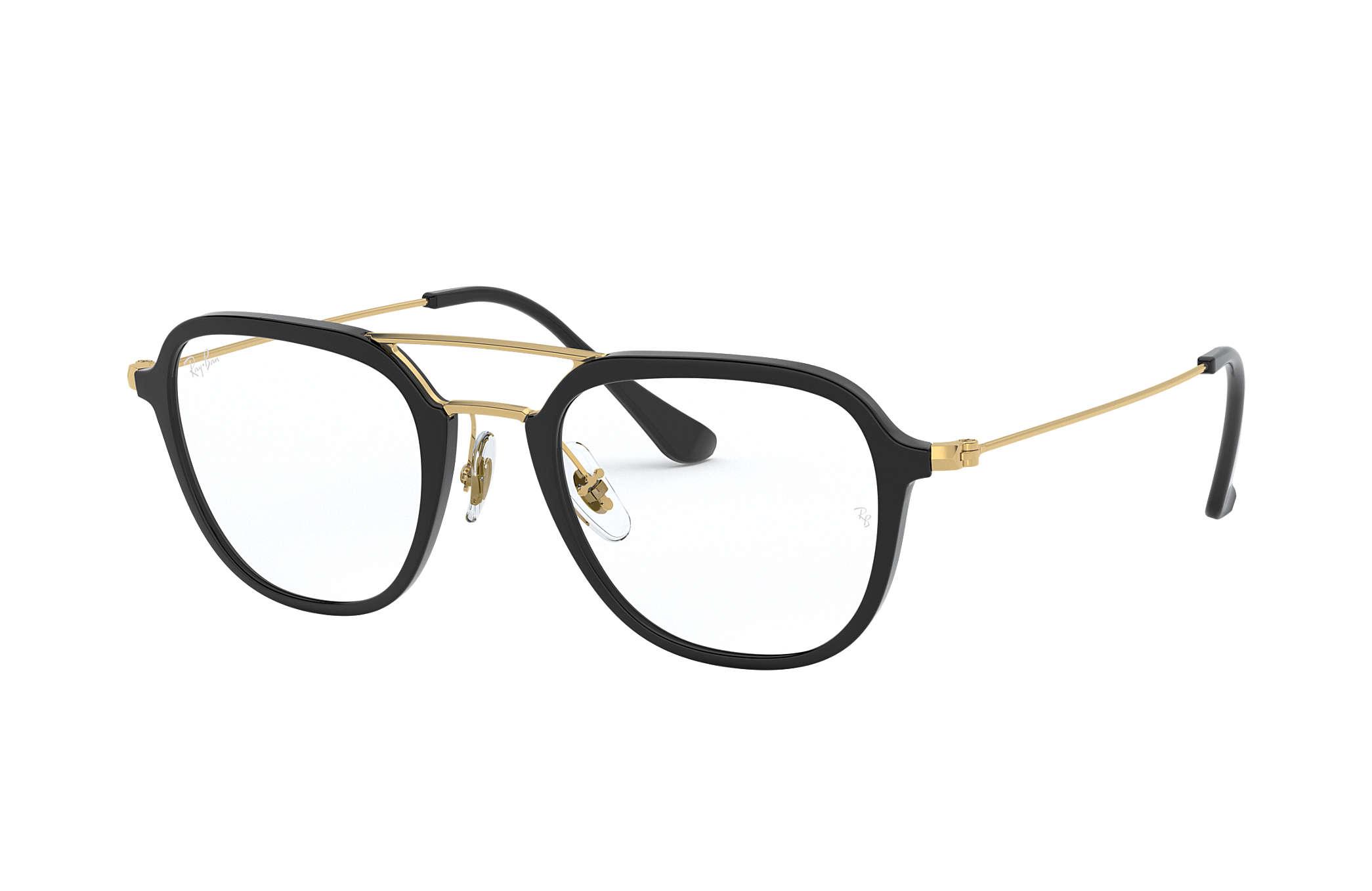 35a25401f3f5 Ray-Ban prescription glasses RB7098 Black - Injected - 0RX7098200048 ...