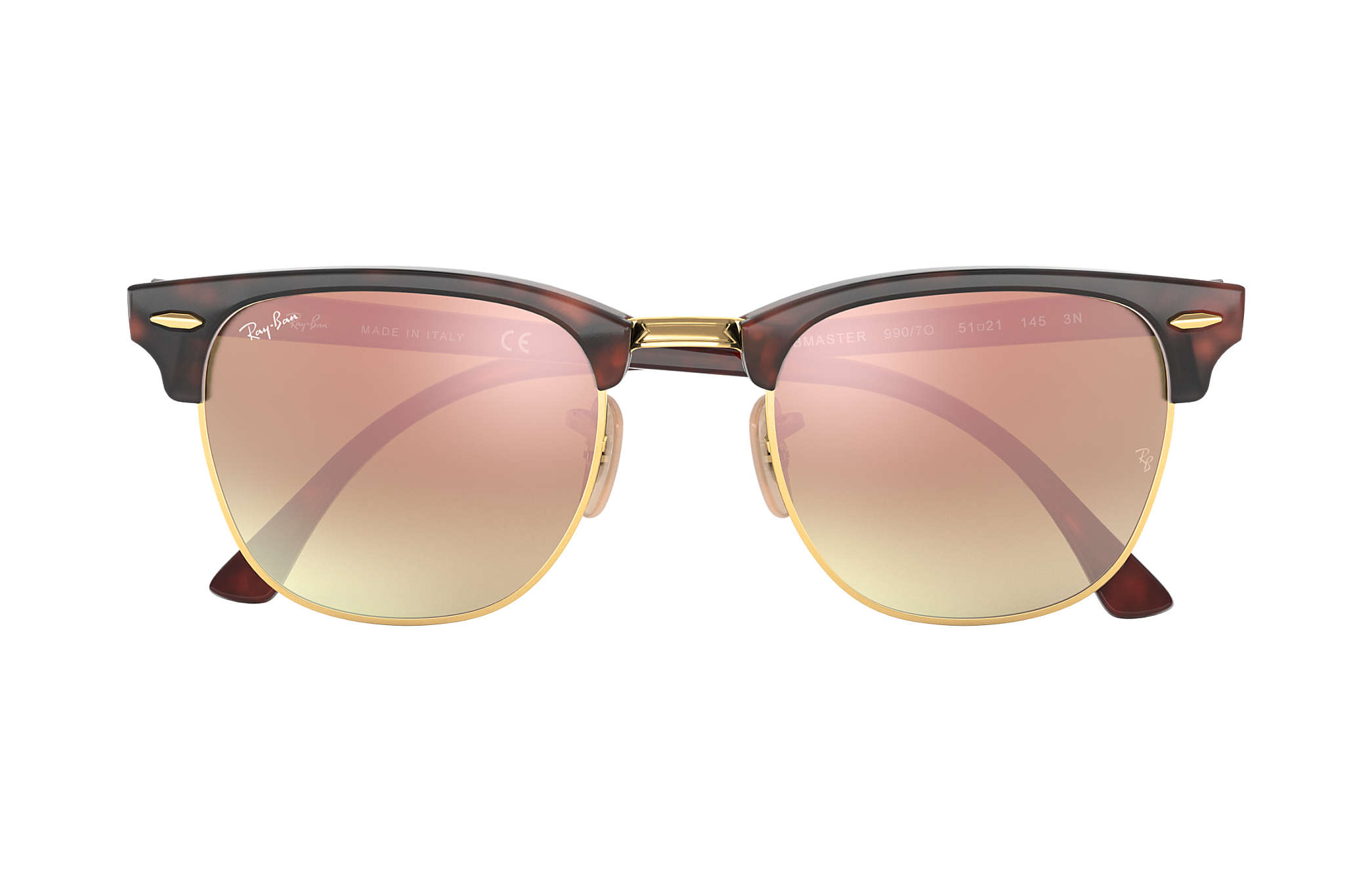ray ban clubmaster grün flash