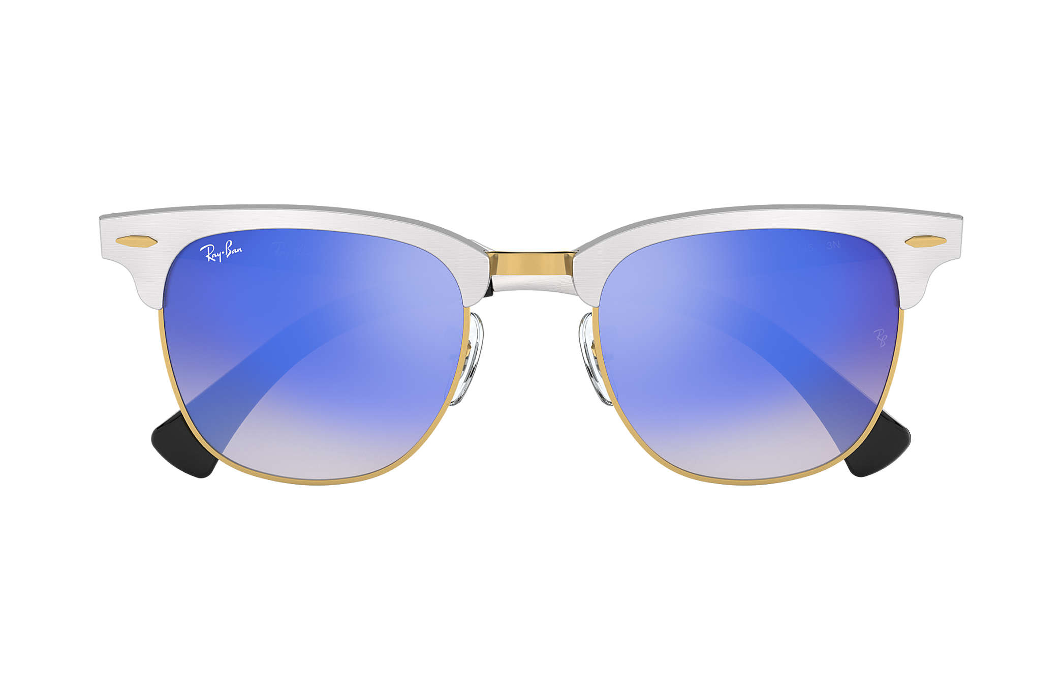 ... Ray-Ban 0RB3507-CLUBMASTER ALUMINUM FLASH LENSES GRADIENT Silver SUN ... 2c3b7658a5