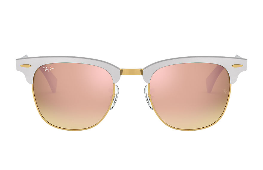 Ray-Ban  sunglasses RB3507 UNISEX 003 clubmaster aluminum flash lenses gradient 실버 8053672603958