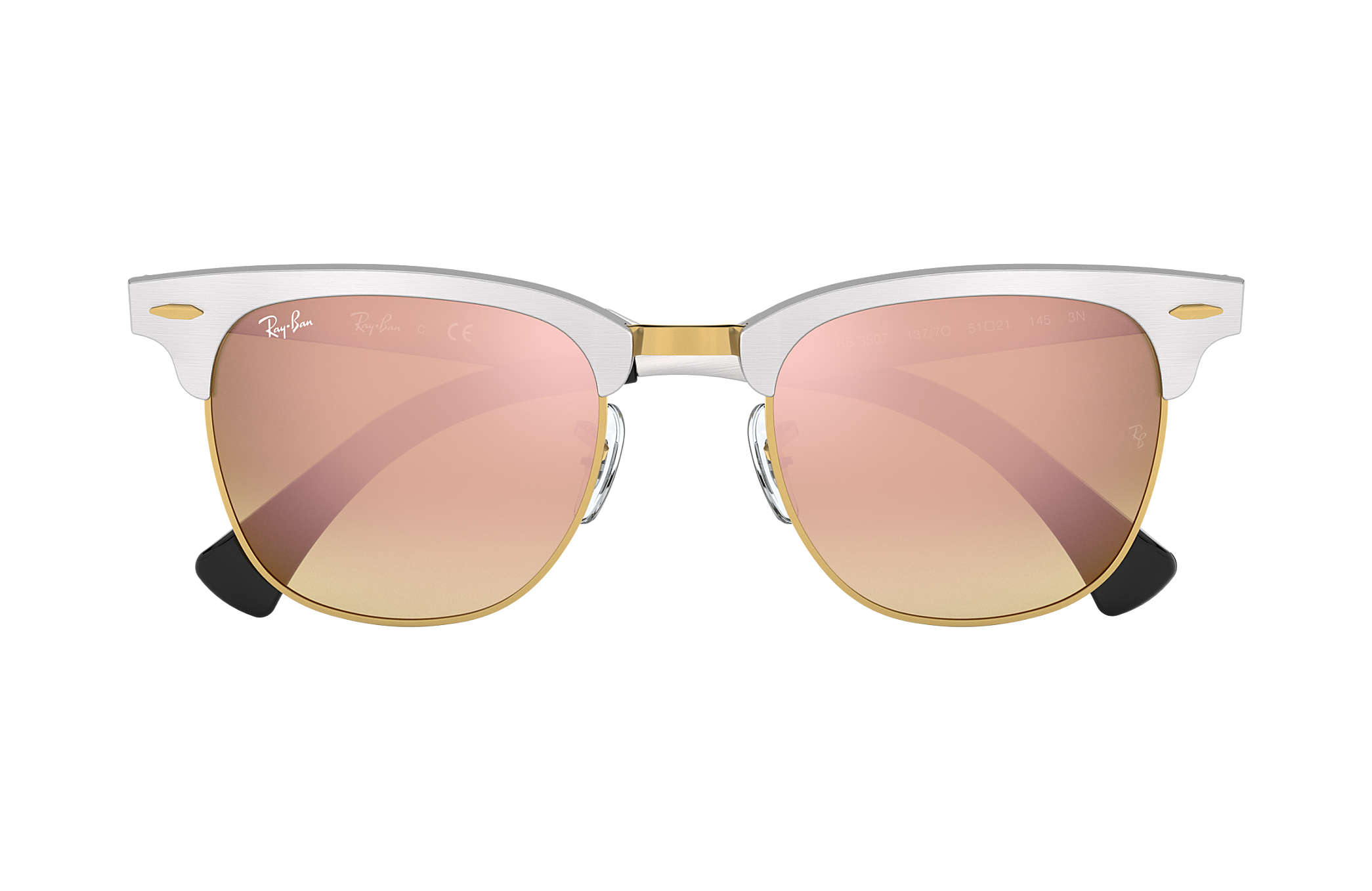 ray ban clubmaster aluminum 3507