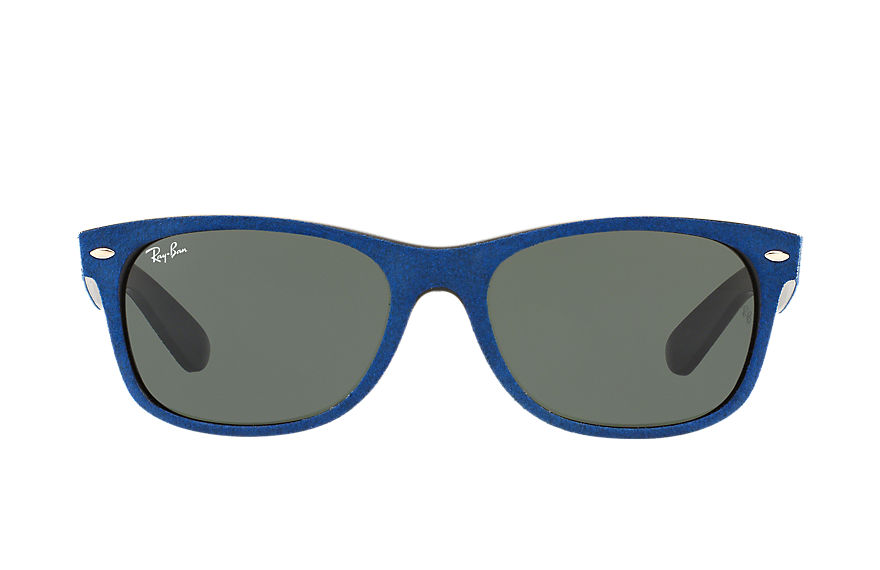Ray-Ban  sunglasses RB2132 UNISEX 070 new wayfarer with alcantara® blue 8053672604009