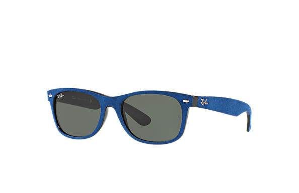 Alcantara® Bleu Ban Rb2132 New Verres Wayfarer Ray Nylon With BredxoC