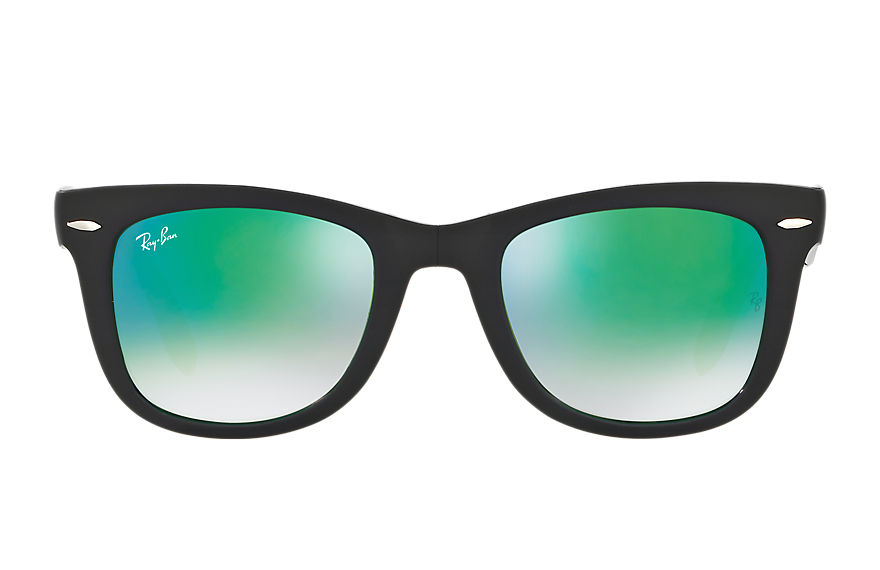 Ray-Ban  sunglasses RB4105 UNISEX 024 wayfarer folding flash lenses black 8053672604153