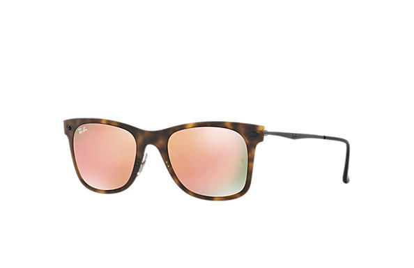 Ray-Ban 0RB4210-WAYFARER LIGHT RAY Tortoise; Gunmetal SUN