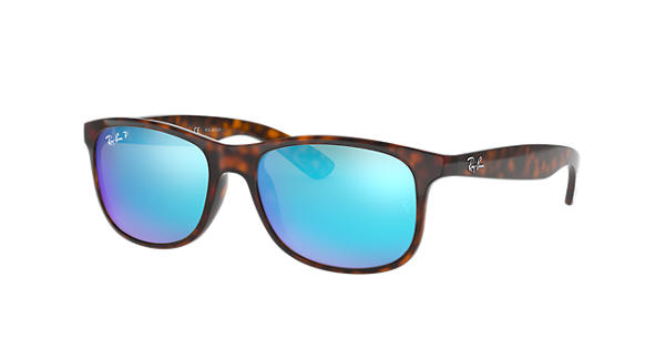 c6bee3e0316 Ray-Ban Andy RB4202 Tortoise - Nylon - Blue Polarized Lenses -  0RB4202710 9R55