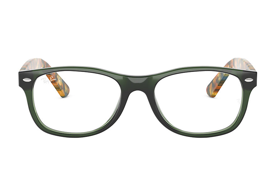 Ray-Ban  eyeglasses RX5184 UNISEX 022 new wayfarer optics green 8053672604504