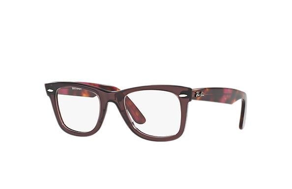 Ray-Ban eyeglasses Original Wayfarer Optics RB5121 Brown - Acetate ... 6cc1437d4b26a