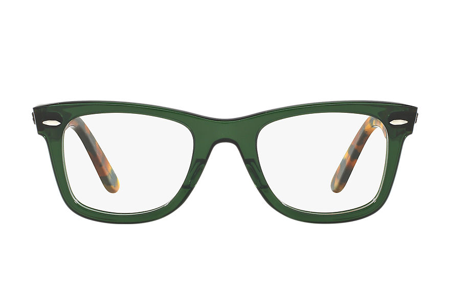 Ray-Ban  occhiali da vista RX5121 UNISEX 004 original wayfarer optics green 8053672604597