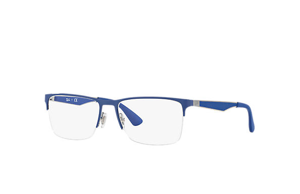 8497f7def5 Ray-Ban prescription glasses RB6335 Blue - Metal - 0RX6335288954 ...