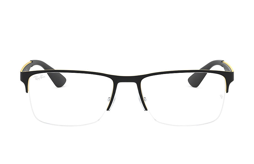 Ray-Ban  eyeglasses RX6335 UNISEX 006 rb6335 black 8053672604856