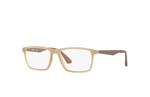 Ray-Ban 0RX7056-RB7056 Light Brown; Gunmetal,Brown OPTICAL