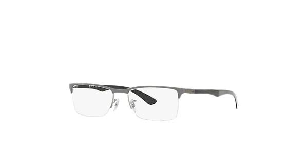 7298b942c9 Ray-Ban prescription glasses RB8413 Grey - Carbon Fibre - 0RX8413289354