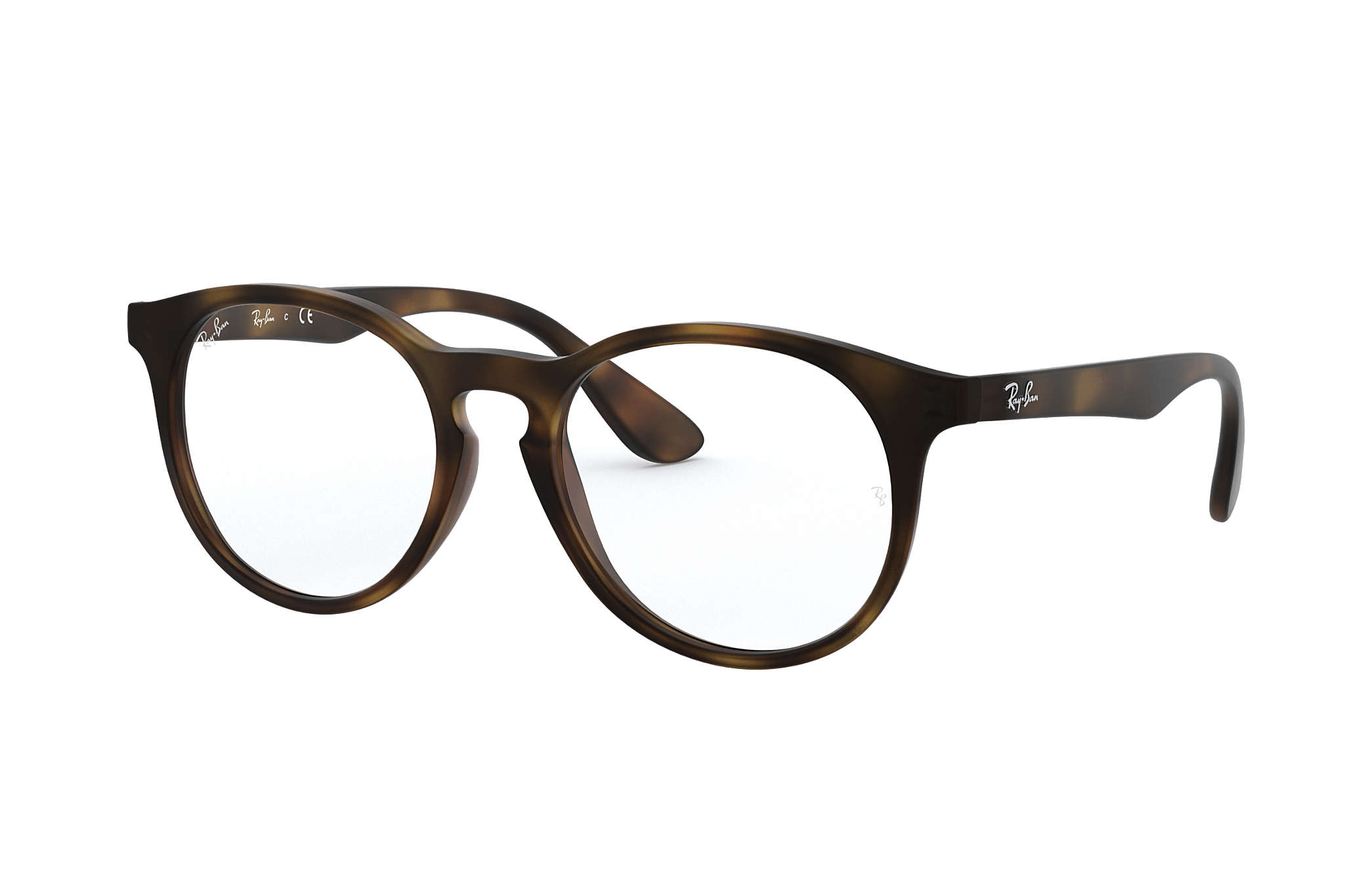 747ad2e672 Lunettes de vue Ray-Ban RY1554 Havane - Injected - 0RY1554361646 ...