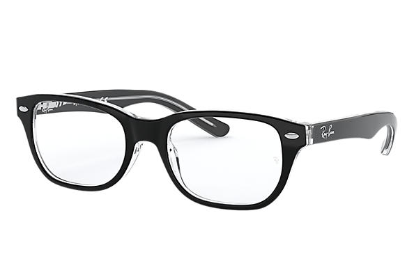 Ray-Ban 0RY1555-RB1555 Black,Transparent OPTICAL
