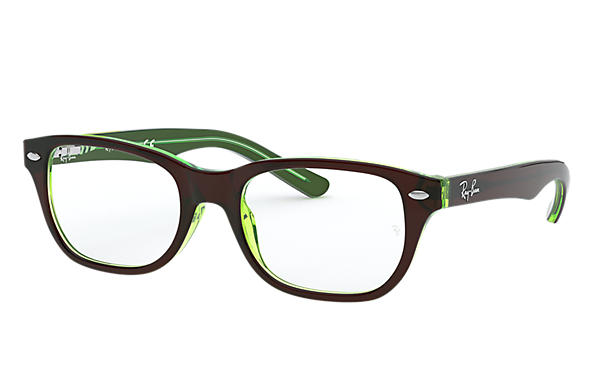 Ray-Ban 0RY1555-RB1555 Marrone,Verde OPTICAL