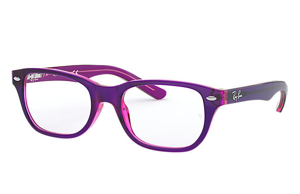 Ray-Ban 0RY1555-RB1555 Violett,Violett-Rot OPTICAL