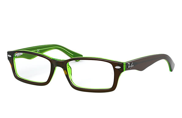 Ray-Ban 0RY1530-RB1530 Brown,Green OPTICAL