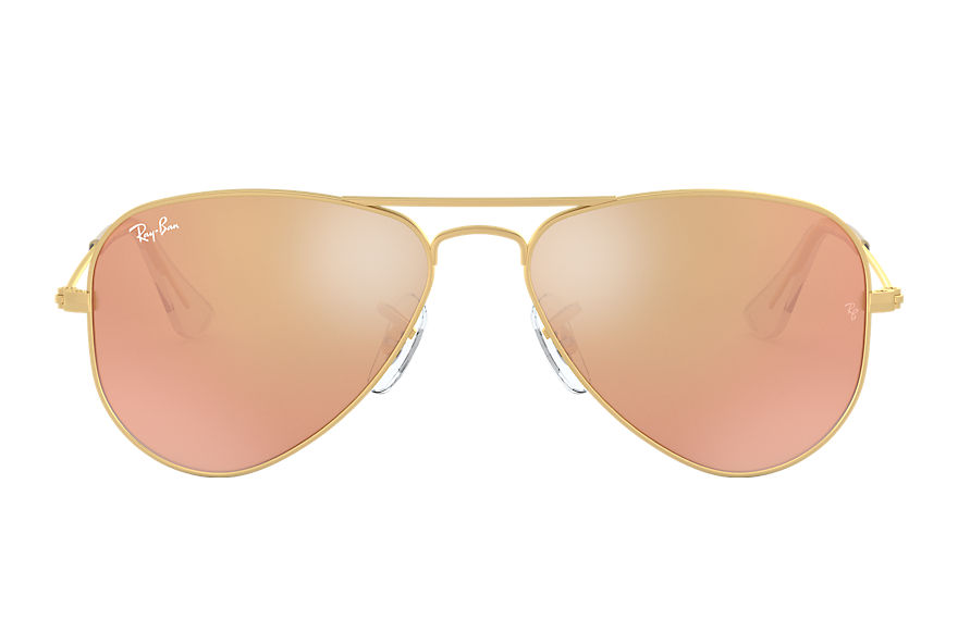 Ray-Ban  sunglasses RJ9506S CHILD 013 aviator junior gold 8053672611175