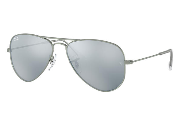 Ray-Ban 0RJ9506S-AVIATOR JUNIOR Gunmetal SUN