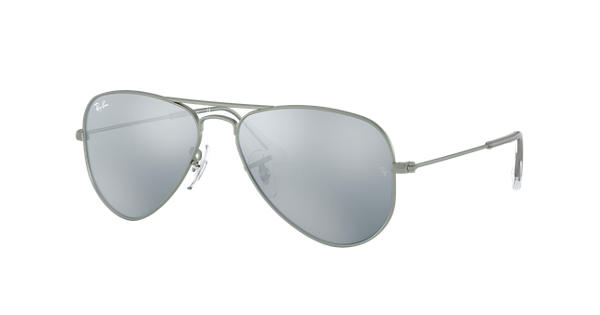 bcbdfa231a Ray-Ban Aviator Junior RB9506S Gunmetal - Metal - Lentes Plata -  0RJ9506S250/3050 | Ray-Ban® España