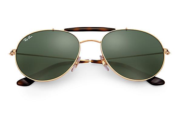 b2950f7bdd Ray-Ban RB3540 Gold - Metal - Green Lenses - 0RB354000153