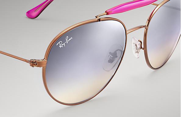 f8e25b99c1 Ray-Ban RB3540 Bronze-Copper - Metal - Silver Lenses - 0RB3540198 ...