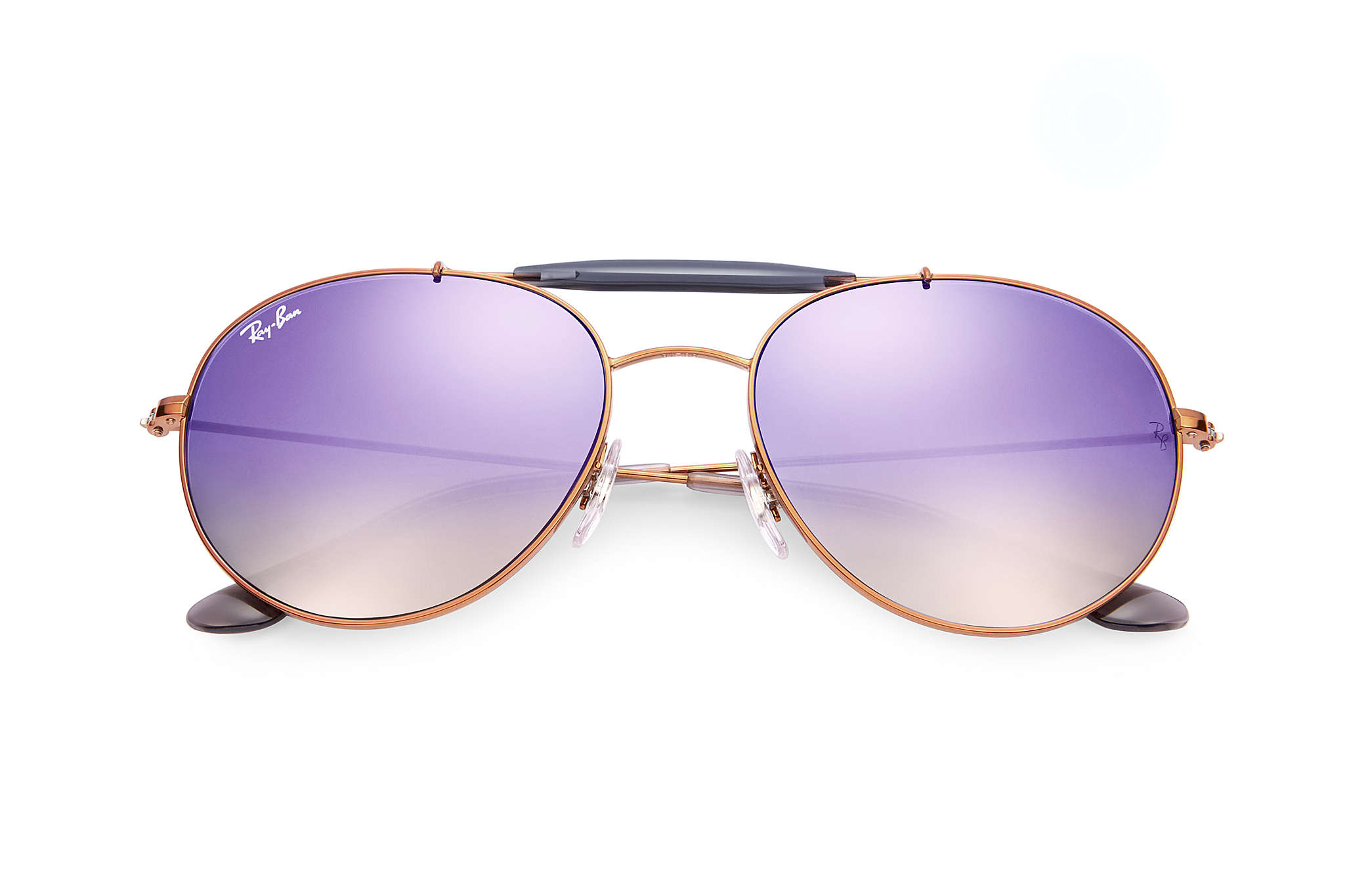 4635801f738c0 Ray-Ban RB3540 Bronze-Copper - Metal - Lilac Lenses - 0RB3540198 ...