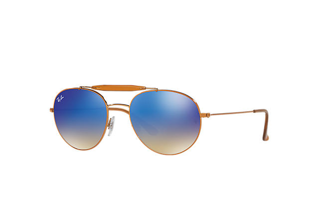 b4fed815b9 Ray-Ban RB3540 Guld - Metall - Grön linser - 0RB354000156