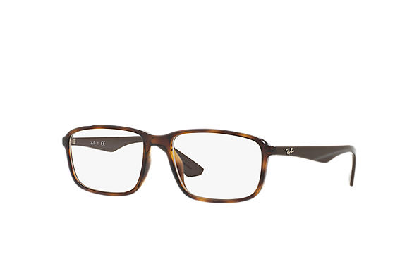 Ray-Ban 0RX7084F-RB7084F Tortoise; Brown OPTICAL