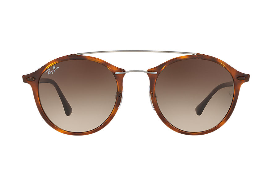 Ray-Ban Gafas-de-sol RB4266 Carey con lente Marrón Degradada