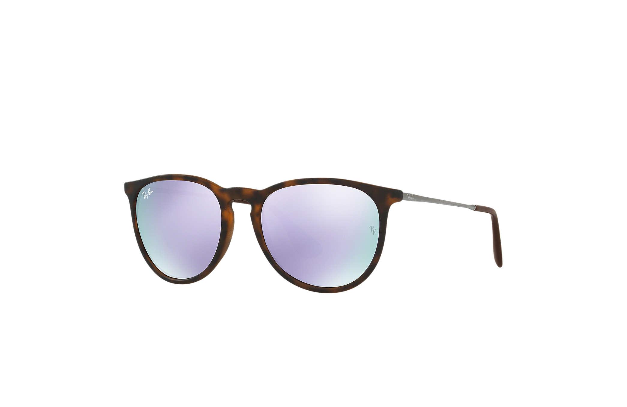 Ray Ban RB4171 Erika Sonnenbrille, polarisiert, glänzend