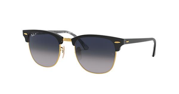 Ray-Ban Clubmaster @collection Black,Gold Black,Grey, Polarized ...