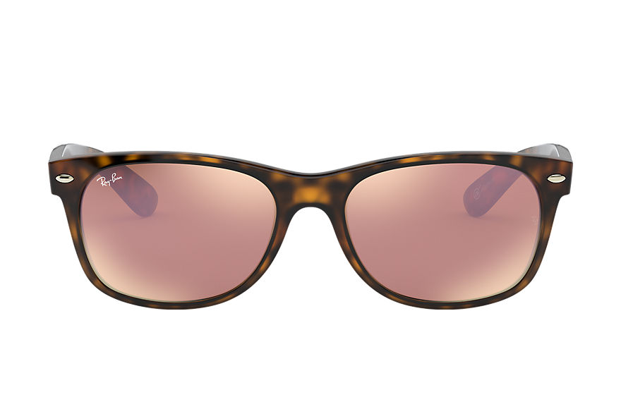 Ray-Ban  sunglasses RB2132 UNISEX 065 new wayfarer online exclusive tortoise 8053672614268