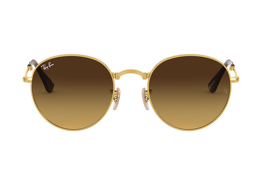 Ray-Ban  sonnenbrillen RB3532 UNISEX 003 round folding online exclusive gold 8053672614404